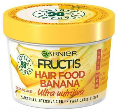 Garnier Fructis Hair Food 3 récipients de 390 ML ? Total?: 1170 Banane