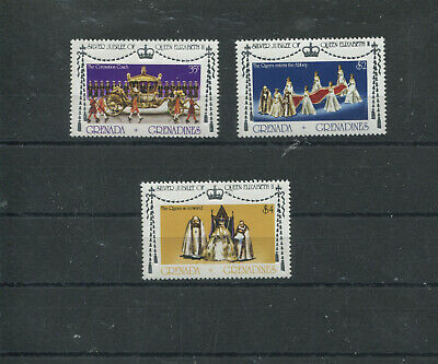 (stamp 112) Grenada Stamps - set of mint stamps to $ 4.00