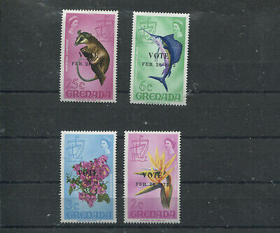 (stamp 112) Grenada Stamps - set of mint stamps to 25 cents