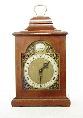 Quality English Bracket Clock, Rotherham's English Movement, S.bates, Serviced