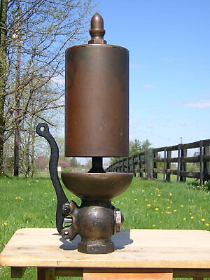 """5"""" Diameter Crane Single Chime Steam Whistle With Valve / Traction Engine"""