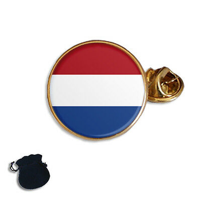 NETHERLANDS DUTCH FLAG MAP LAPEL PIN BADGE TIE PIN GIFT