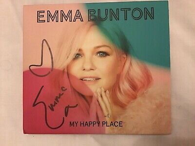 Emma Bunton My Happy Place Cd Brand New And Signed Spice Girls