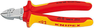 Knipex 14 26 160 VDE Insulated 1.5mm 2.5mm Wire Stripper & Side Cutter