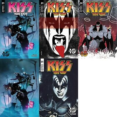 KISS The DEMON TPB Complete Series NEW 1//2 Cover Price AMY CHU Erik Burnham