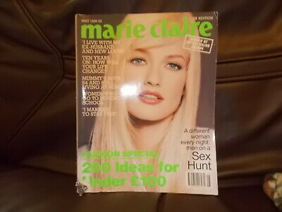 Marie Claire Magazine May  1995 Good Condition