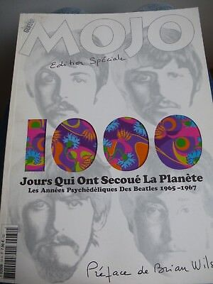 """Magasine """"Mojo"""" Beatles Edition Speciale Numerote"""