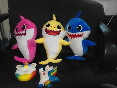 New Singing Musical Baby Sharks  SHIPPING from Pittsburgh 3 colors
