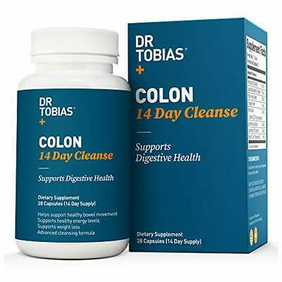 Dr Tobias Colon 14 Day Quick Cleanse - Supports Detox & Increased Energy