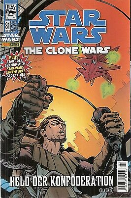 Comic - Star Wars - The Clon Wars Nr. 81 von 2010 - Panini Verlag - deutsch