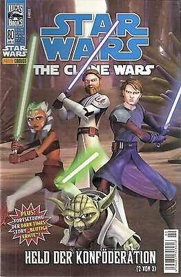 Comic - Star Wars - The Clon Wars Nr. 80 von 2010 - Panini Verlag - deutsch
