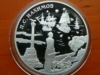 3 Rubel 2002 - Russland - Admiral Pavel Nachimow  - PP