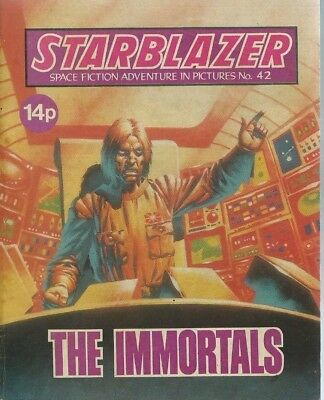 The Immortals,starblazer Space Fiction Adventure In Pictures,comic,no.42