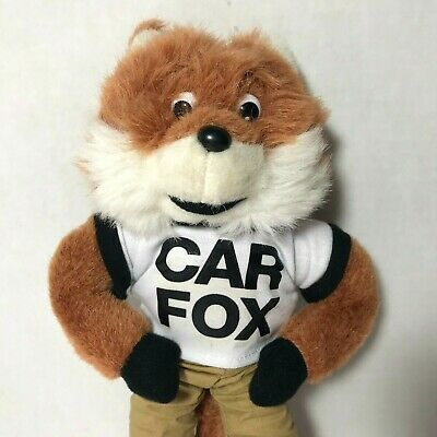 Car Fox Show Me The Carfax Stuffed Official Automotive Toy 7 00
