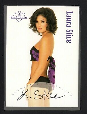 2003 Bench Warmer Series One Box-Topper Autograph #BT6 Laura Stice HT 19220