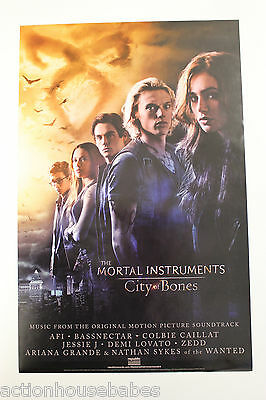 The MORTAL INSTRUMENTS: CITY of BONES - Promo Poster 11 x 17 - DOUBLE SIDED