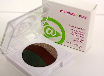 mary kay at play BAKED EYE TRIO EYE SHADOW ( EARTH BOUND ) New In Box!
