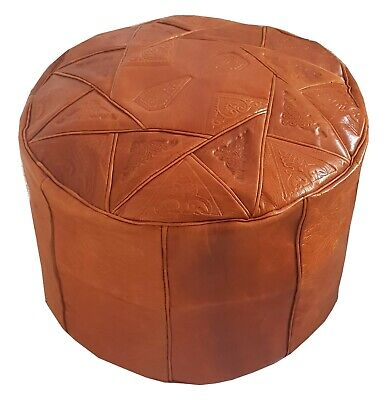 Cool Ottomans Poufs Footstools Moroccan Square Brown Goat Leather Theyellowbook Wood Chair Design Ideas Theyellowbookinfo