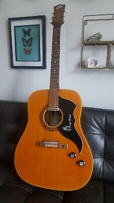 Eko ranger 6 Electra 1967 Italy acoustic guitar with black carrying case