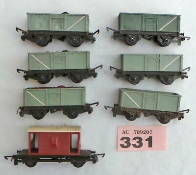 PP331 Tri-ang wagons X 7 unboxed TT gauge