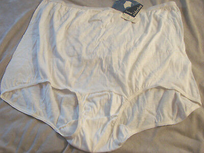 Vintage 70s Eiderlon Panty Panties Cotton Blend Sz 10 NWT New White Pillow Tab