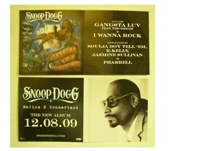 Snoop Dogg 2 Sided Poster Malice N Wonderland and