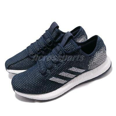 c54ac01f959 adidas PureBOOST Clima CC Navy White Men Running Training Shoes Sneakers  G27983