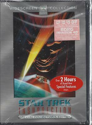 Star Trek Insurrection Special Collector's Edition DVD NEW  Sealed  Widescreen