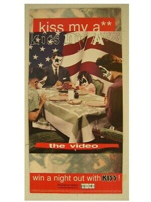 Kiss Promo Poster 2 sided