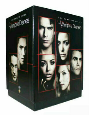 The Vampire Diaries: The Complete Series season 1-8 (DVD, 2017, 38-Disc Box Set)