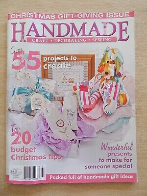 Handmade Vol 26 #3~Quilt~Embroidery~Dog~Bags~Cushions~Tea-Cosy~Pirates~Country