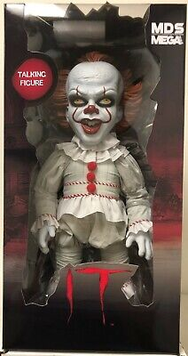 Mezco Designer Series IT 2017 Mega Scale Talking Pennywise Figure NEW IN STOCK