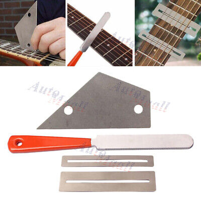 Guitar Fret Crowning Luthier File Leveling Grinding Tool Kits Guitar Repair Tool