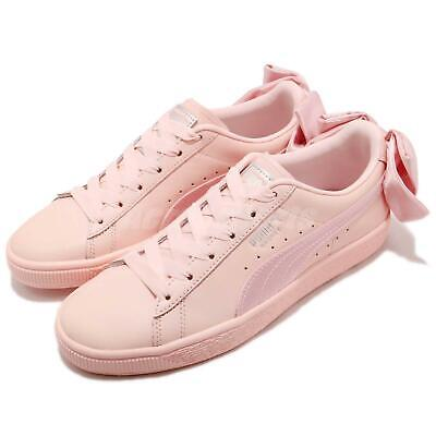 451d95b25449 Puma Basket Bow Wns Pearl Pink Women Casual Fashion Shoes Sneakers 367319-02