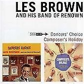 Les Brown and his Band of Renown 'Dancer's Choice' & 'Composer's Holiday' CD
