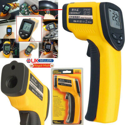 Infrared IR Digital Thermometer Laser Handheld Gun Point Pointer Non Contact New