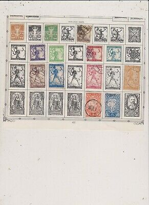 Yugoslavia-Jordan  Stamps Hinged Lot 195-Buy 10 Sets Free Shipping