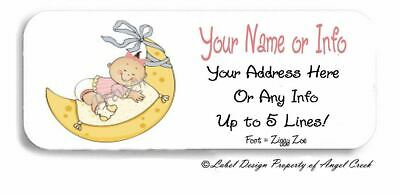 It/'s a Girl cigar labels birth announcements 25//$12.50
