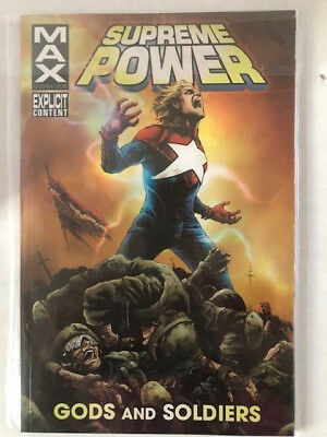 Supreme Power: Gods and Soldiers Max Comics Marvel