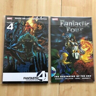 Fantastic Four the beginning of the end Trade paperback