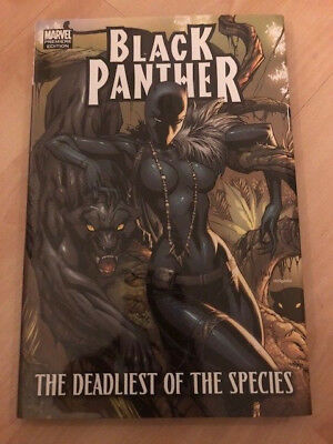 Black Panther: the deadliest of species by R. Hudlin HC Marvel