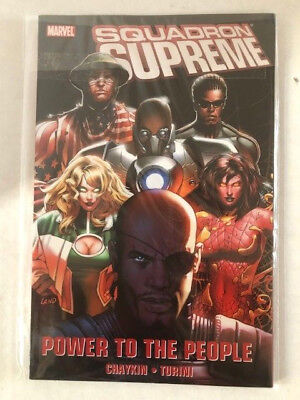 Squadron Supreme: Power to the People Marvel comics
