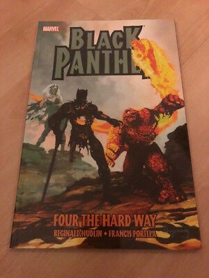 Black Panther: Four the hard way TPB Marvel