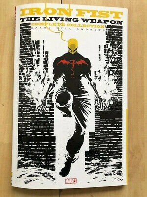 Iron Fist the Living Weapon TPB Kaare Andrews Marvel