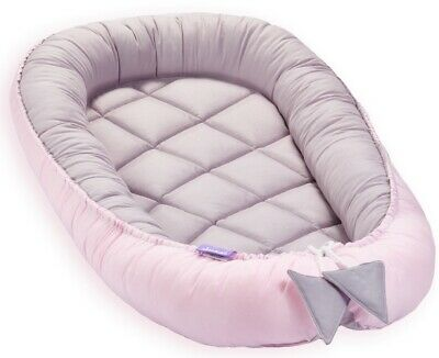 Baby Nest Soft Sleeping Cribs Cuddle Pads 100% Swaddling Wrap PINK