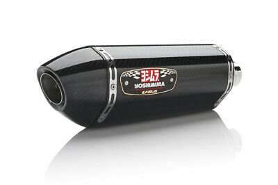 Yoshimura R-77 Race Exhaust System Stainless/Carbon/Carbon (1390002)