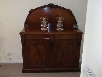 Victorian Mahogany Sideboard Lovely Condition