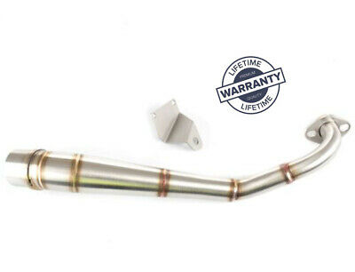 HONDA MSX125 Grom 2013 to 2019 New Stainless Low Level Exhaust Front Pipe