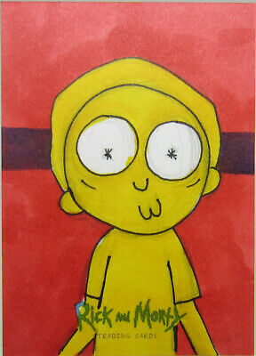Cryptozoic Rick and Morty Season 2 1/1 Sketch Card MORTY by Matthew Sutton