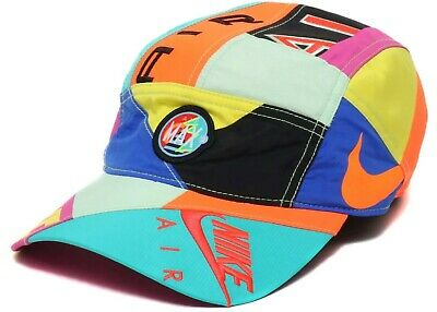 053e064168 DS New Nike Sportswear AW84 Atmos NRG Cap Hat CI1397-416 Adjustable  Patchwork